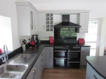 Range style cooker