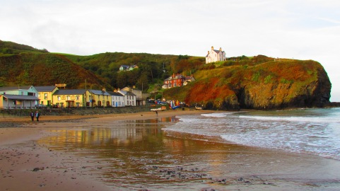 Llangrannog beach - early doors