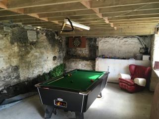Pool table games room