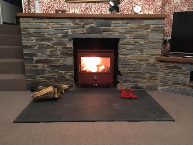 Recently installed Chilli Penguin stove fitted early 2019